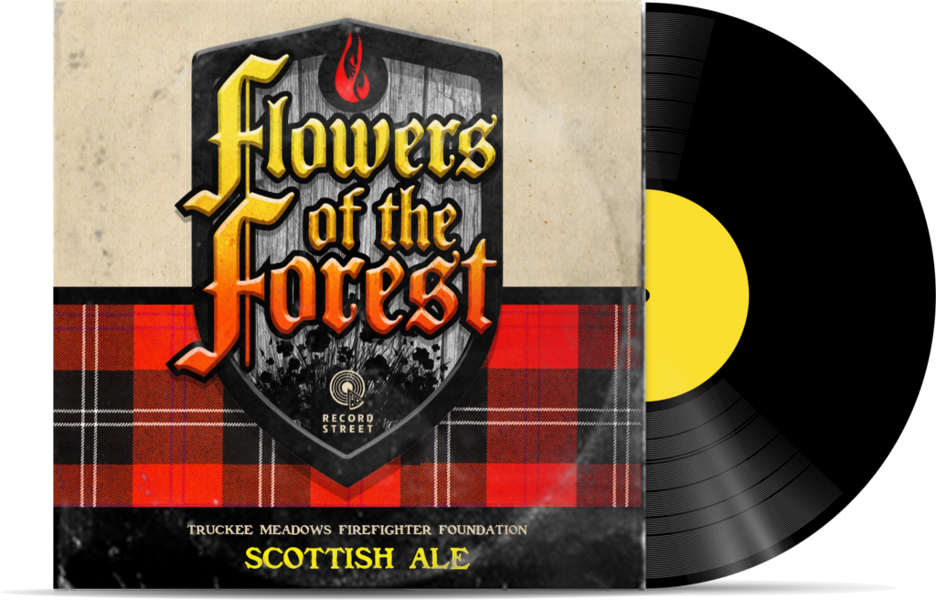 Flowers of the Forest Beer Cover Art