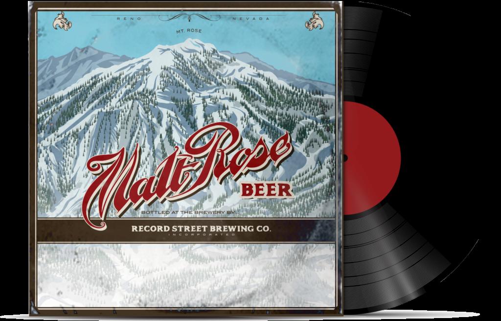 Malt Rose Beer Cover Art