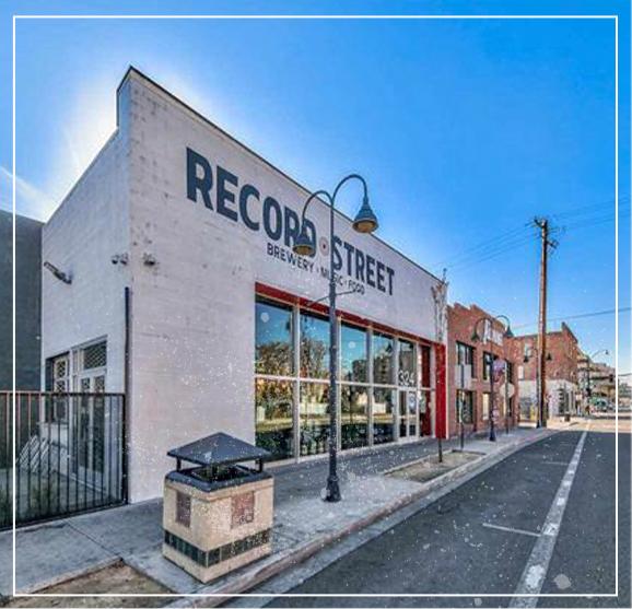 Record Street Exterior